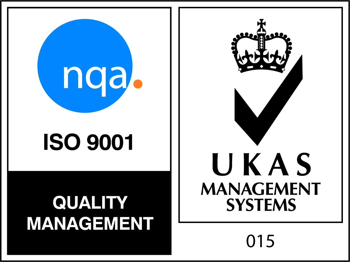 ISO 9001 NQA logo